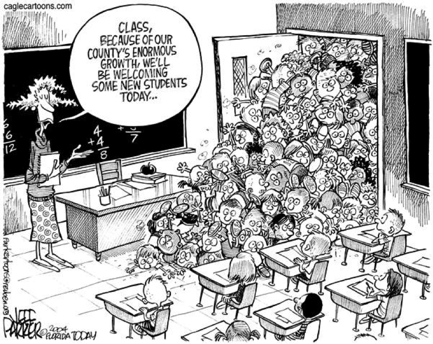 Enrollment Cartoon | Higher Ed, Not Debt