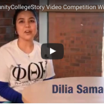 Photo Credit: HeadsUp America Dilia Samadova, winner of the Free Community College Competition hosted by HeadsUp America, won $2,000 to put towards her degree at Terra State University.