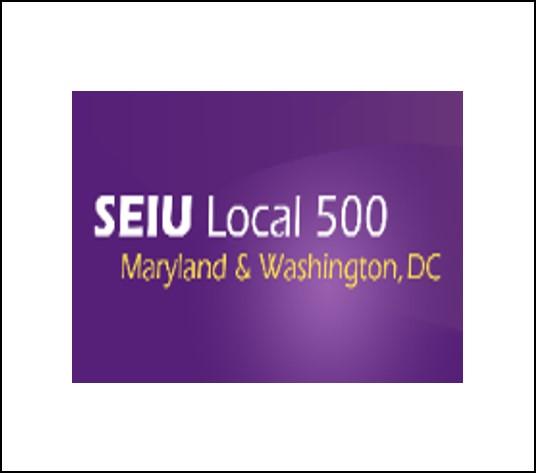 SEIU Local 500 – Maryland